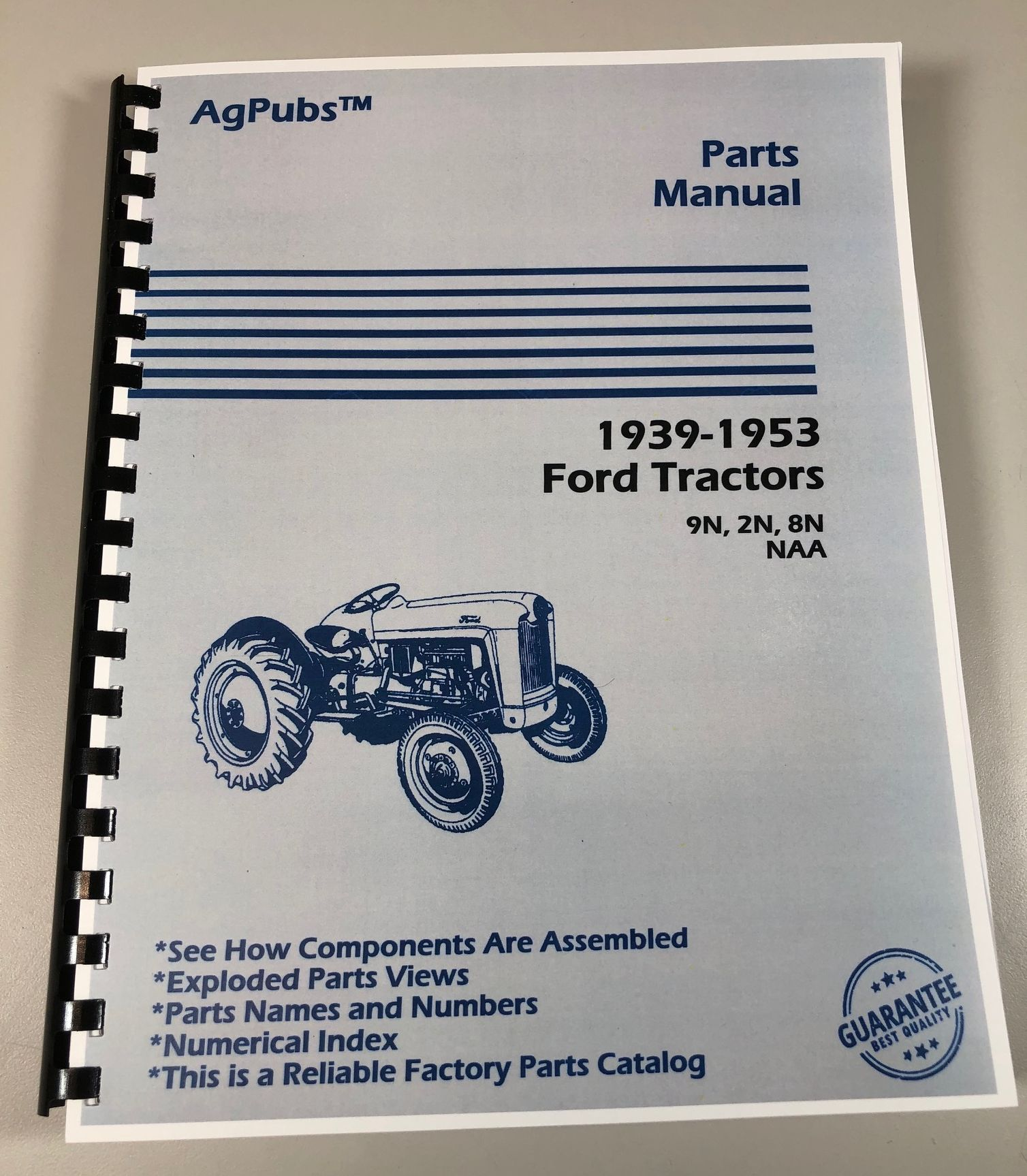 AgPubs Parts Manual for Ford 2N 8N 9N NAA Tractors 1939-1953 on